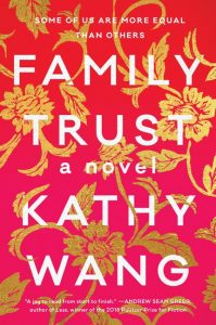 Five new fiction book releases in October 2018: Family Trust book cover