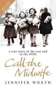 Netflix Novels: Call the Midwife cover image of four children walking down the street in the 1950s