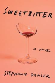 Netflix Novels: Sweetbitter cover with a broken wine glass