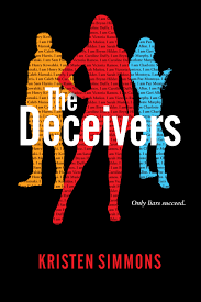 Netflix Novels: The Deceiver Cover of 3 Young Women