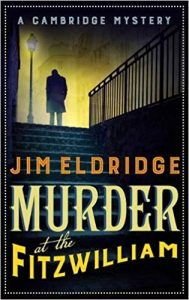 Murder at the Fitzwilliam - Book Cover - Man Standing on Stairs