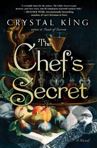 The Chef's Secret Book Cover with Plate of Produce