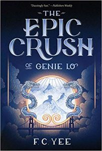 Book to Make You Smile: Blue Cover of The Epic Crush of Genie Lo