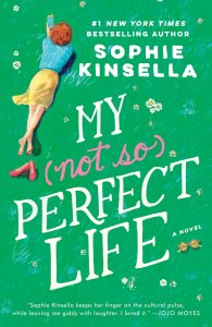 Books to Make You Smile: Green Cover of My Not-so-Perfect Life
