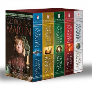 5 Must-Read Fiction Book Series for Adults: A Game of Thrones Set